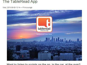 tableread App on Film Courage