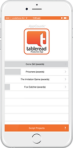 tableread app - iphone