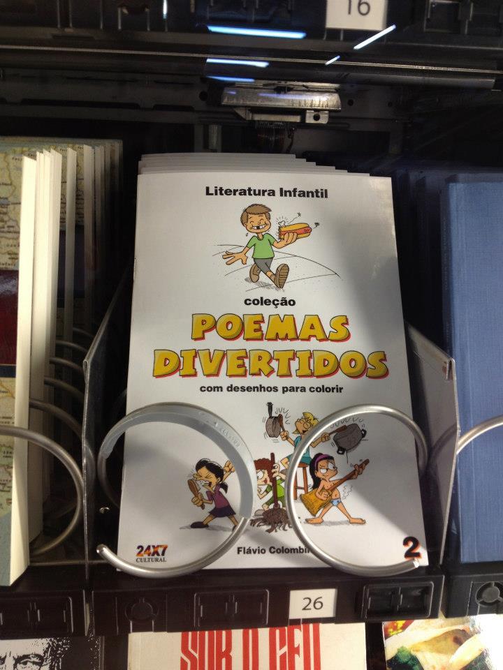 Livro à venda no metrô de São Paulo