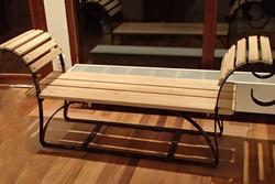 houtenbankje