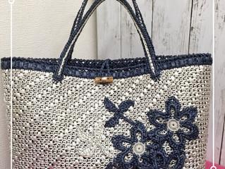 母の日のプレゼントにバッグを編みましょう♪