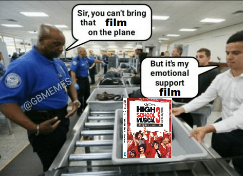 Sir, that is my emotional support film: High School Musical 3 in Times of Crisis