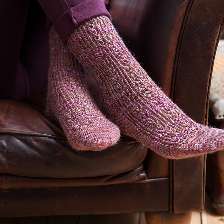 The Knitted Sock Society for Quail Publishing