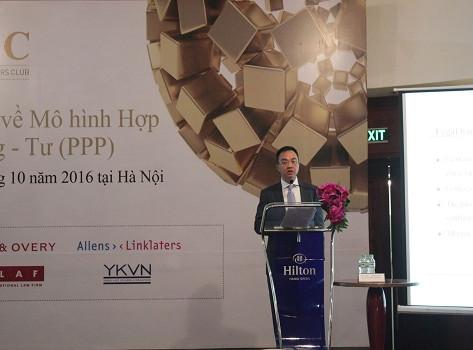 Câu lạc bộ Luật sư Thương mại Quốc tế Việt Nam tổ chức Hội thảo về mô hình đối tác công – tư (PPP)