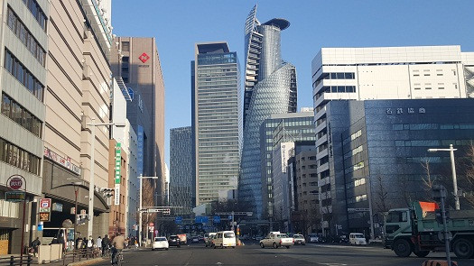 Nagoya buổi sớm (Ảnh: Hoài Phan)