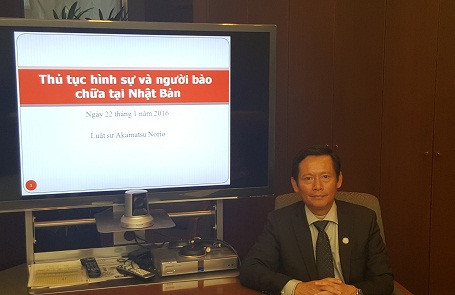 Luật sư Phan Trung Hoài - Phó Chủ tịch VBF, Trường Đoàn công tác VBF tại Nhật Bản