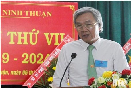 Đồng chí Lê Văn Bình, UVTV Tỉnh ủy, Phó Chủ tịch UBND tỉnh phát biểu tại đại hội