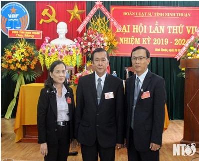 Ban Chủ nhiệm nhiệm kỳ 2019-2024, LS Nguyễn Thị Hồng, LS. Phạm Văn Phước, LS. Hồ Mai Huy