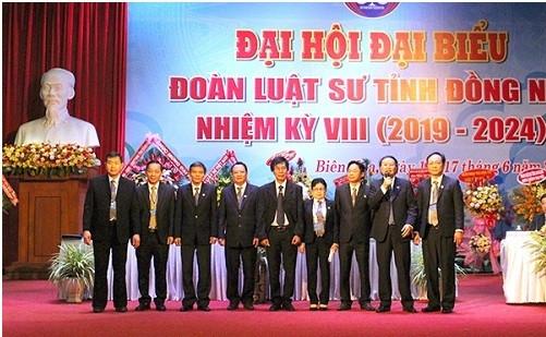Ban Chủ nhiệm Đoàn luật sư tỉnh Đồng Nai nhiệm kỳ VIII (2019 – 2024)