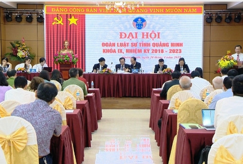 Đại hội đoàn luật sư tỉnh Quảng Ninh