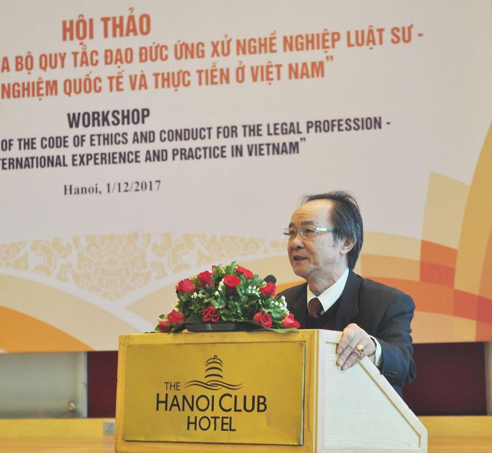 ThS. LS Nguyễn Minh Tâm – Ủy viên Ban Thường vụ, Phó Tổng thư ký LĐLSVN