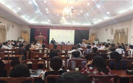 Khung cảnh Hội nghị tập huấn, trao đổi kinh nghiệm với các luật sư thực hiện hỗ trợ pháp lý cho công dân tại trụ sở Tiếp dân TW