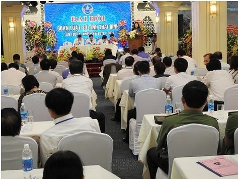 Đoàn luật sư tỉnh Thái Bình tổ chức Đại hội lần thứ IX nhiệm kỳ 2019-2024