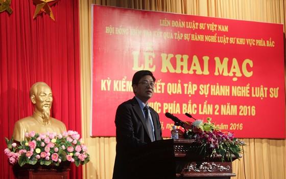 Chủ tịch Đỗ Ngọc Thịnh phát biểu khai mạc