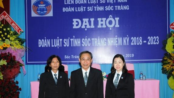 Ban chủ nhiệm đoàn luật sư tỉnh Sóc Trăng nhiệm kỳ VIII ( 2018-2023)