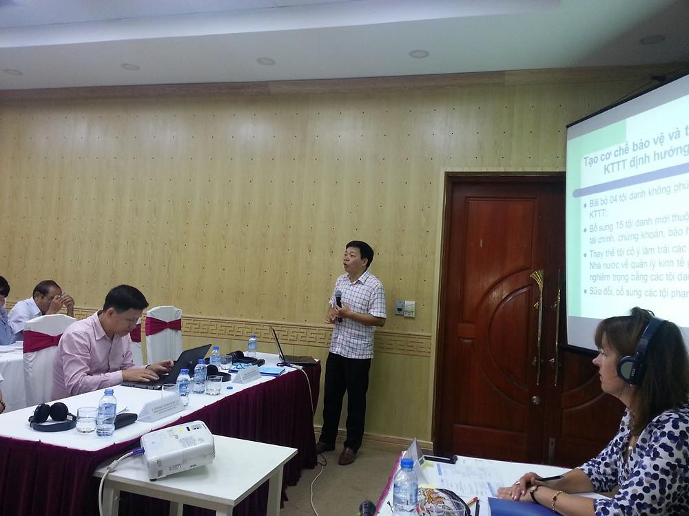 TS. Trần Văn Dũng, Phó Vụ trưởng Vụ pháp luật hình sự - hành chính, BTP