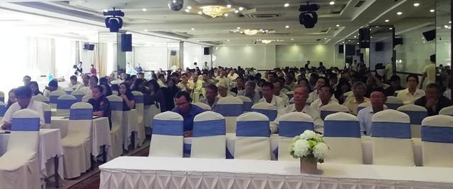 Các đại biểu tham dự lớp bồi dưỡng