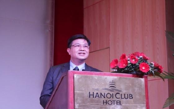 Chủ tịch Đỗ Ngọc Thịnh phát biểu tại buổi gặp mặt
