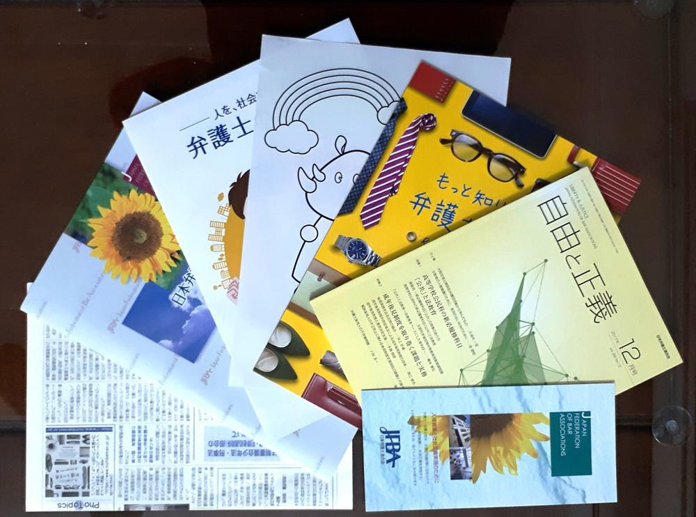 Một số ấn phẩm của Nichibenren