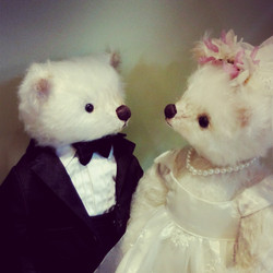 Wedding Bears - We have been adopted