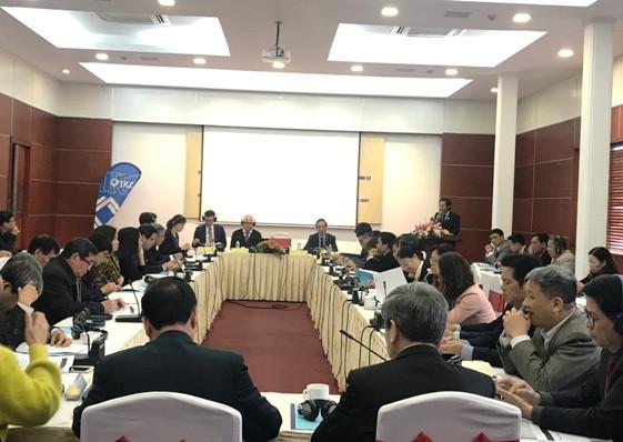 Khung cảnh Hội thảo tại Hà Nội.