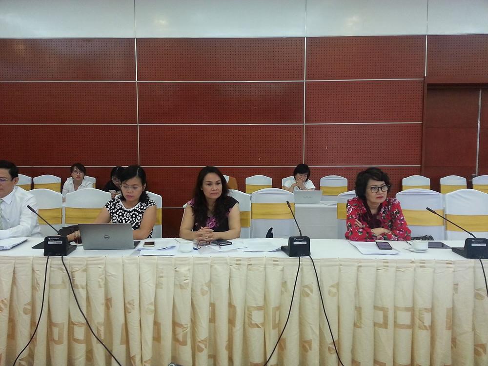 Luật sư Nguyễn Quỳnh Anh, Ủy viên Ban Thường vụ,