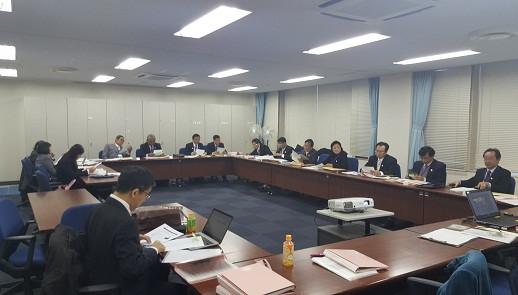 Đoàn công tác VBF trong một buổi học tập và làm việc tại Nhật Bản