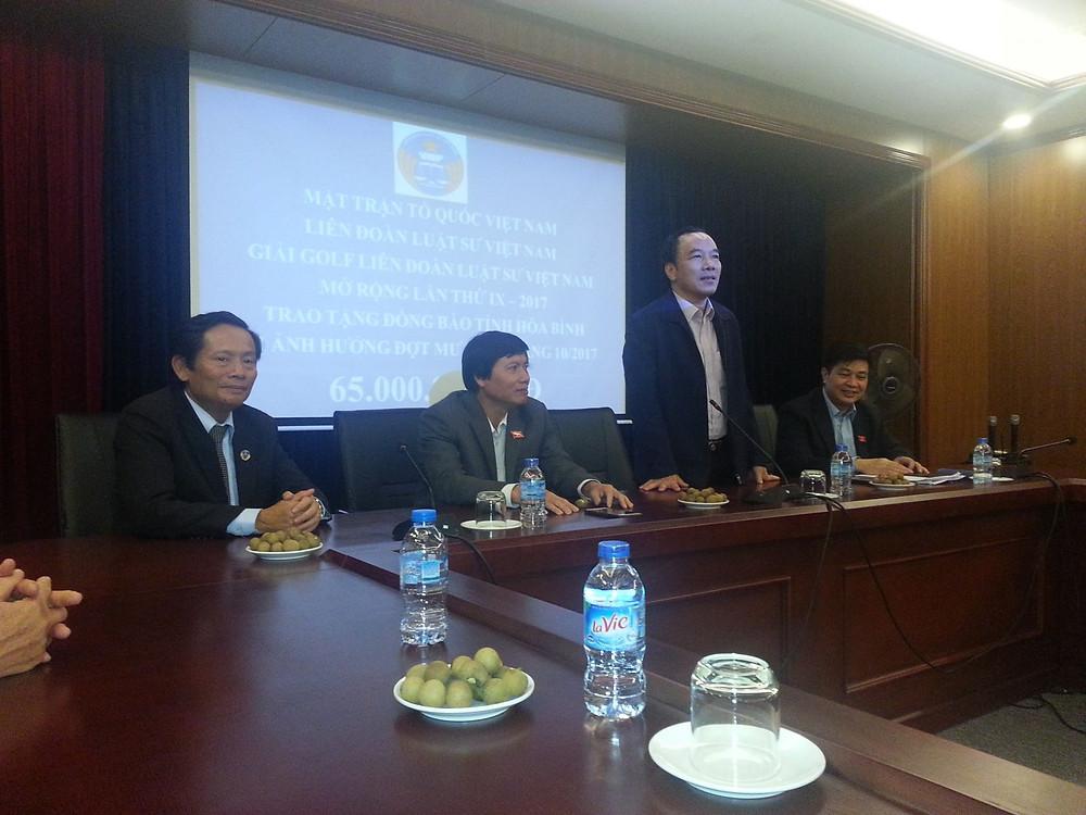 Ông Ngô Sách Thực, Phó Chủ tịch UB Trung ương MTTQVN, ĐBQH tỉnh Bắc Giang
