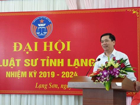 Đại hội Đoàn Luật sư tỉnh Lạng Sơn nhiệm kỳ 2019-2024