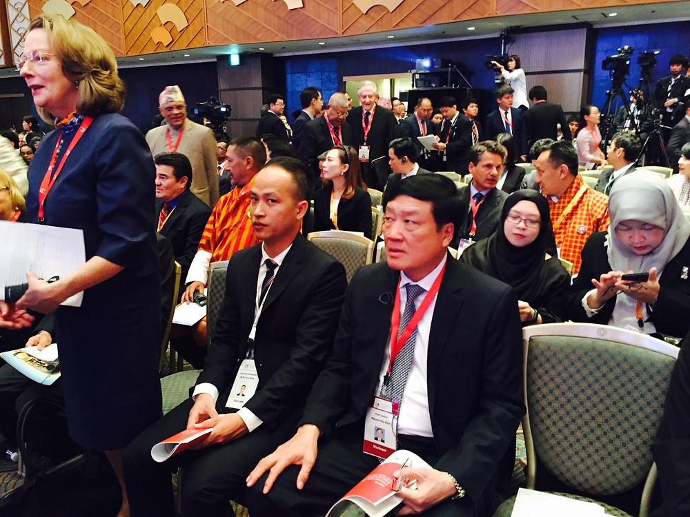Tiến sỹ Nguyễn Hòa Bình - Bí thư Trung ương Đảng, Chánh án TANDTC tại Hội nghị