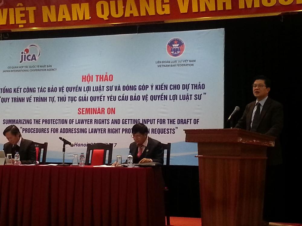 LS. Đỗ Ngọc Thịnh - Chủ tịch LĐLSVN phát biểu khai mạc Hội thảo