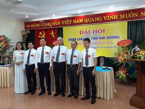 Đoàn luật sư tỉnh Hải Dương tổ chức thành công Đại hội lần thứ IX, nhiệm kỳ 2018 - 2023