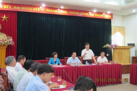 LS. TS. Đỗ Ngọc Thịnh - Phó Chủ tịch LĐLSVN phát biểu tại Hội nghị