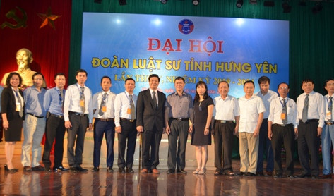 Đoàn luật sư tỉnh Hưng Yên tổ chức thành công Đại hội lần thứ V nhiệm kỳ 2014 - 2019
