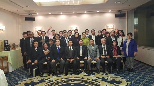 Hôi Luật sư Aichi và Đoàn công tác VBF giao lưu tối ngày 20/01/2016