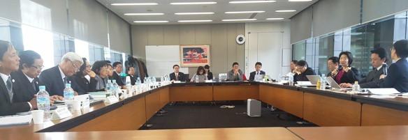Trao đổi với đại diện Đoàn Luật sư Osaka