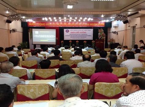 Liên đoàn Luật sư Việt Nam tổ chức khóa bồi dưỡng cho luật sư 6 tỉnh Nam miền Trung và Tây Nguyên
