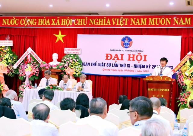 uang cảnh Đại hội ĐLS tỉnh Quảng Ngãi