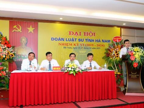 Đoàn Luật Sư Tỉnh Hà Nam tổ chức Đại Hội lần thứ VI
