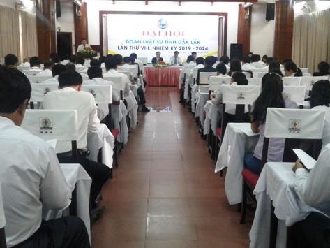 Đoàn luật sư tỉnh Đắk Lắk tổ chức thành công đại hội lần thứ VIII, nhiệm kỳ 2019 -2024