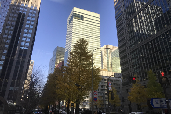Một góc Tokyo trên đường đến VPLS Nishimuara Asahi chiều 9/12/2016