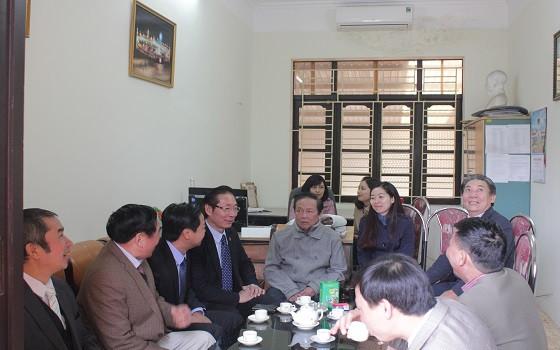 Phó Chủ tịch Nguyễn Văn Chiến làm việc với ĐLS tỉnh Ninh Bình