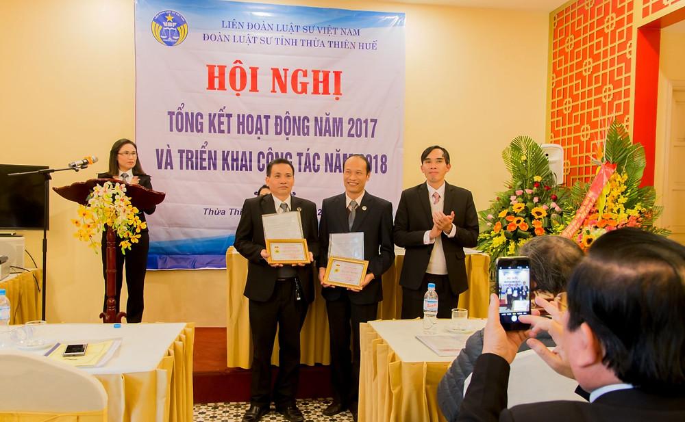 Ông Nguyễn Văn Hưng, Phó Giám đốc Sở Tư pháp tỉnh Thừa Thiên Huế