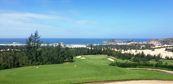 Một góc sân golf FLC Quy Nhơn