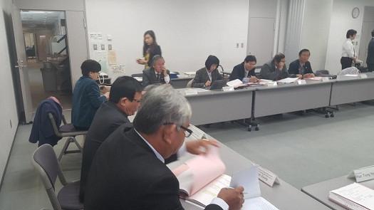 Đoàn công tác VBF thảo luận tại phiên họp tổng kết chuyến công tác