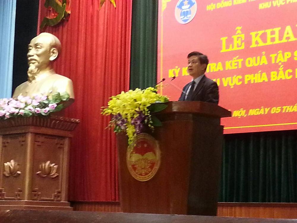 LS. Đỗ Ngọc Thịnh – Chủ tịch LĐLSVN, Chủ tịch Hội đồng kiểm tra phát biểu khai mạc