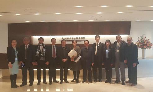 Đoàn công tác VBF thăm Hãng luật MHM lớn nhất Nhật Bản với hơn 380 luật sư thành viên