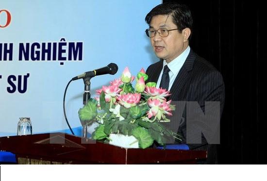 LS. Đỗ Ngọc Thịnh, Chủ tịch LĐLSVN phát biểu tại Lễ ra mắt STLS