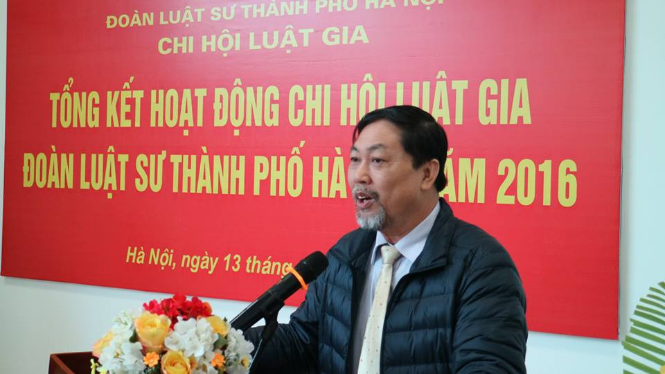 LG. Nguyễn Hồng Tuyến, Ủy viên BTV TW Hội Luật gia VN, Chủ tịch HLG TP. Hà Nội