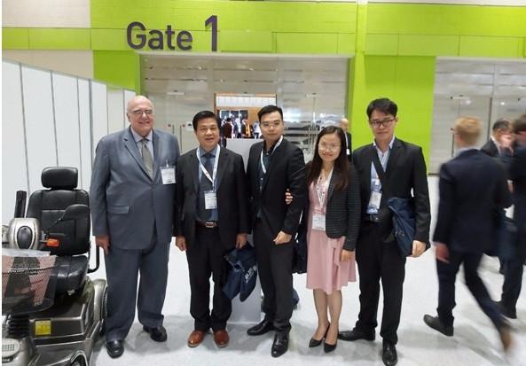 Đoàn công tác của Liên đoàn luật sư Việt Nam với ông Bernardes Neto, Chủ tịch IBA